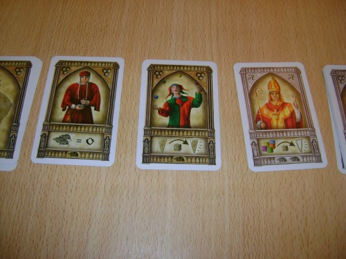 Person cards in Notre Dame
