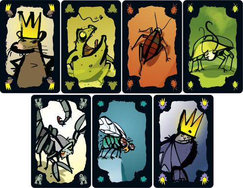 Kakerlakenpoker Royal Cards