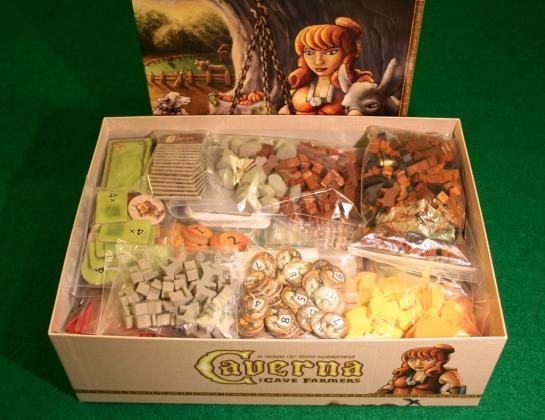 Caverna's gargantuan box